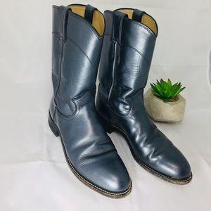 Justin Women's Boots pearl blue Sz. 5